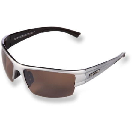 Camp and Hike With wrap-around coverage, the Pepper's Blackmoor polarized sunglasses shield eyes from the harmful, damaging rays of the sun. - $12.73