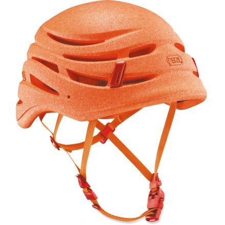 Climbing One of the lightest weight climbing helmets available, the Petzl Sirroco Ultralight climbing helmet protects against impacts during fast ascents of steep rock faces and glaciated peaks. - $90.93