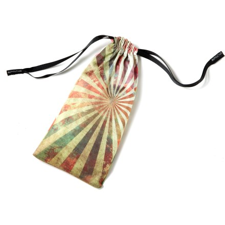 Camp and Hike The SunCloud soft microfiber cloth sunglass pouch protects your sunglasses from scratches and dust. - $4.95