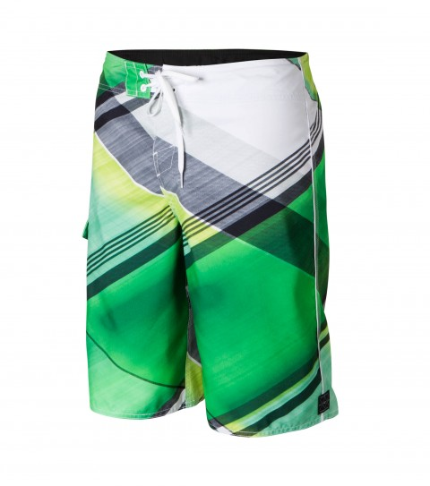 "Surf O'Neill Source Boardshorts.  Epicstretch.  22"" outseam boardshort features superfly closure; sideseam piping; side pocket; woven patch and screened logos. - $49.50"