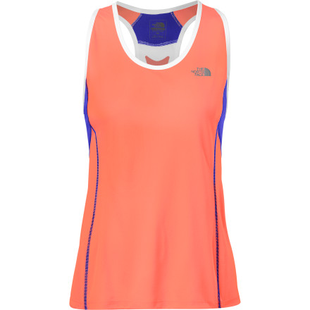 Fitness It's scorching-hot out; don't try to be a hero and run drenched in sweat. Pull on The North Face Women's Better Than Naked Singlet, and let its lightweight, ultra-breathable construction keep you dry and happy on the long haul. Athlete-tested and competition-proven, this top with FlashDry quick-drying, moisture-wicking technology beats the heat, while mesh panels add ventilating comfort to prevent sticky back sweat. See, you don't have to be a martyr. - $44.95