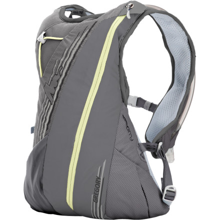 Fitness With a two-liter capacity and minimal gear storage space, the Gregory Tempo 3 Hydration Backpack's super-stable design makes it ideal for mid-length trail runs where stability is paramount. - $98.95