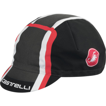 Fitness A good cycling cap is indispensable. If you have hair, it makes coffee stops much more stylish, and if you don't, it protects your bare head from all manner of assailants --namely sun and water. The Castelli Velocissimo DS Cap is a classic. It's good looking, and the brim seems to be just the right size to keep rain out of your eyes on the hardman days, and the sun out of your eyes on summer canyon cruises. The cap is 100% cotton. It's a traditional four-panel pro design, with Castelli logos screened on the sides. The bill has Castelli wording across the brim. The Velocissimo DS Cap comes in the following colors: Black/anthracite/red, Black/ocean/orange fluo, and Black/acid green/red. One size, fits most. - $11.96