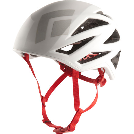 Climbing Whether you're clipping bolts in Maple Canyon, Utah or navigating through seldom-traveled trad pitches, strap on the ultralight Black Diamond Vapor Helmet for tough head protection. The low-profile design and featherlight weight of under seven ounces make it easy to forget you're even wearing a helmet. Plus, the geometric vents provide ample air-flow for hot summer days at the crag. - $139.95