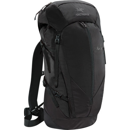Climbing For a multi-sport day pack that's built to withstand years of hard use, shoulder the Arc'teryx Kea 30 Backpack. The twin aluminum stays and HDFB suspension allow you to access remote cliff bands and powder bowls in comfort while the burly silicone-coated Cordura fabrics shrug off unexpected weather. - $198.95