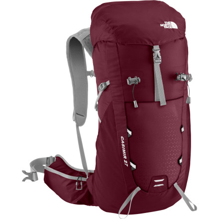 Camp and Hike There are two things that can ruin a lovely day of hiking in an instant...bad weather and an ill-fitting pack. Well, three things if you count deadly snake bites, but that's a separate issue. The North Face Women's Casimir 27 Backpack has the fit problem beat with Opti-Fit Nano fitting and fit-adjustable, women-specific hip- and harness-belts. Gone are the days of constant fidgeting and adjusting during your hike. With the Casimir 27 you can just set it and forget it. - $103.16