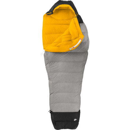 Camp and Hike Elite athletes around the world depend on The North Face for lightweight, technical sleeping bags to keep them moving fast and sleeping comfortably, and the Hightail 2S Sleeping Bag is a perfect example. This minimalist sleeping bag tips the scales at just 1lb 4oz, making it The North Face's lightest three-season down-filled sleeping bag. Snug from head to toe, the Hightail hugs your body with lofty, 850-fill goose down and uses trapezoidal baffles to control insulation distribution so cold spots won't crop up. Just because you're considering this sleeping bag for the fast-and-light advantage it offers doesn't mean that you should sacrifice when it comes to the details. To this end, the Hightail also has a full-length zipper to give you some temperature control and Pertex fabric at the hood, collar, and footbox to allow the movement of sweat and moisture away from your body. - $338.95