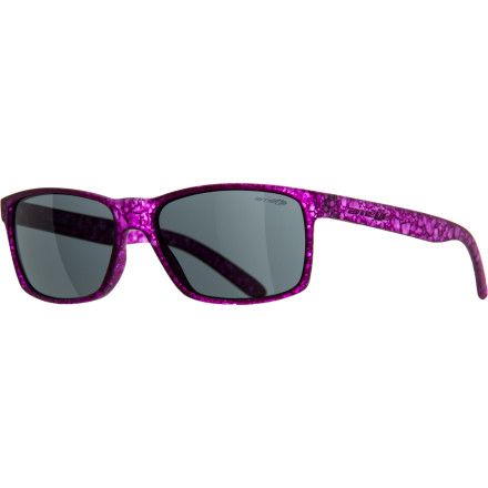 Camp and Hike The Arnette Slickster Sunglasses hook up a slimmed-down take on a classic silhouette. With a flexible injected grilamid frame that resists breakage and comfortably conforms to nearly any face, the Slickster will quickly become your go-to daily wearer. - $69.95