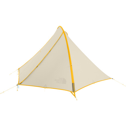 Camp and Hike When you're looking to shave weight for ultralight backpacking or thru-hiking in pleasant weather, rely on The North Face Eclipse 2-Person 3-Season Tent. The Eclipse is easy to set up, thanks to its simple pole sleeve, and it features a waterproof breathable tarp that shields you from unexpected weather. - $168.95