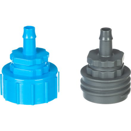 Camp and Hike With the Sawyer Inline Adapter Connections for Screw On Filters, you can fill your hydration pack with clean filtered water directly from the stream, river, or lake. The adapters allow you to easily remove the filter after filling so you can continue up the trail. - $4.95