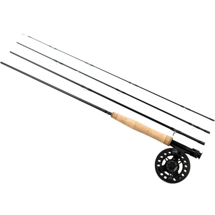 Camp and Hike The Greys GS2 & GX300 Rod & Reel Kit will get you, your son, daughter, partner, or friend hooked on fly fishing. This quality rod has a balanced middle tip action that a novice will find easy to manage, while the GX300 large arbor design delivers fast, level retrieve after the first big hook. - $229.00