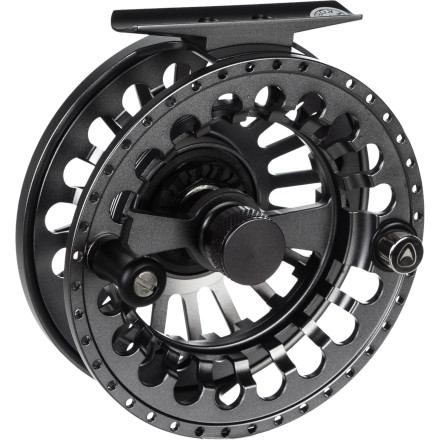 Camp and Hike The Greys GX900 Fly Reel lives to tackle small wild trout in high-mountain lakes or to tame large, hard-fighting salmon in big rivers, depending on the size of the reel, of course. This quality, durable reel features a centralized twin Rulon disc drag, a large arbor design, and a simple captive spool release system that lets you switch from right- to left-hand retrieve. - $159.00