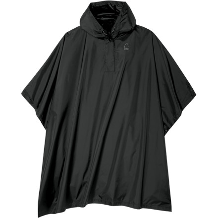 Camp and Hike The Sierra Designs Boys' Storm Poncho comes in super-handy when the sky opens up and begins to pour during your kid's hike or commute to school. - $39.95