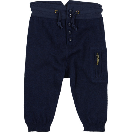 Slide the Egg Infant Boys' Knit Pant with Side Pockets on your little ham before you head out the door for a morning stroll to the local coffee shop. - $33.95
