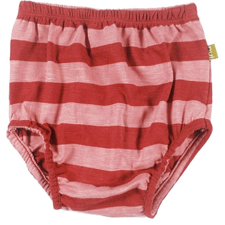The Nui Organics Annie Bloomers are made with breathable, soft, and sustainable organic cotton fabric to keep your kid's lower half encased in eco-friendly, cottony comfort all day long. - $15.95