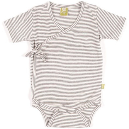 Fitness The Nui Organics Kimono Bodysuit makes clothing and diaper changes nearly effortless, thanks to its snap-closure crotch opening and a tie-side design that doesn't require pulling over the head. Super-soft, chemical-free organic cotton fabric feels great against your child's skin. - $24.95