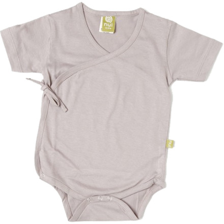 The Nui Organics Kimono Bodysuit makes clothing and diaper changes nearly effortless, thanks to its snap-closure crotch opening and a tie-side design that doesn't require pulling over the head. Super-soft, chemical-free organic cotton fabric feels great against your child's skin. - $24.95