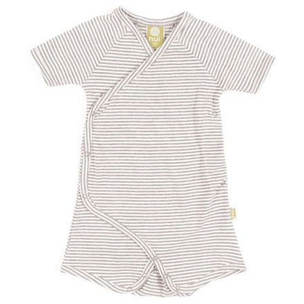 Entertainment With a snap-closure kimono design and incredibly soft, breathable organic cotton fabric, the Nui Organics Cooper Romper keeps your child comfortable and happy from the bassinet to the beach. - $23.95