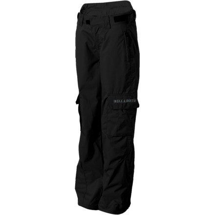 Ski The Billabong Boys' Felt Pants keep your little speed demon warm and dry on the hill so he can rock the park in toasty style. A water-resistant shell with a touch of insulation mean he can ride all day without feeling the cold. - $44.98