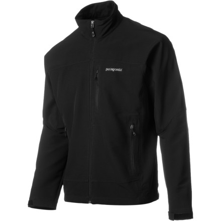 When the wind picks up and the temps start to fall, zip up the Patagonia Men's Simple Guide Softshell Jacket. The stretchy softshell fabric provides complete freedom of movement and is treated with a Deluge DWR finish for protection in wet weather. - $119.00