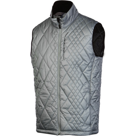 Ski Keep your core warm on extra-cold days by layering up underneath your shell with the Obermeyer Scout Insulator Men's Vest. It has lightweight PermaLoft insulation to add extra warmth so you can still ski hard all day without having to put on a giant puffy coat to stay comfortable. The outer nylon fabric also has a Duroguard coating that repels water so you don't get soaked through when you're walking around the village in a flurry after skiing. - $69.62