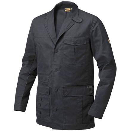 Instead of disappearing into the crowd with a homogeneous suit jacket, stand out and make the right impression with the Fjallraven Men's Travel Blazer. The durable G-1000 fabric lends a relaxed look and reliable weather protection while the classic blazer cut with lapels provides the class and style you need to seal the deal. - $224.95