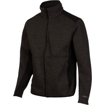 Temperatures are dropping fast, so stay warm on the slopes by layering up with the Obermeyer Whittier Men's Cardigan. It has a wool-blend outer fabric with a fleece lining to help you stay toasty under your shell jacket when a storm is blowing through, and a casual look and regular fit make it so you don't even have to change out of it when you head to dinner after calling it a day at the mountain. - $104.97