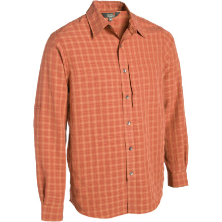 Entertainment Made with a blend of ultra-soft modal yarn and fast-wicking polyester, the Royal Robbins Piru Plaid Shirt dispenses comfort at every turn. - $23.18