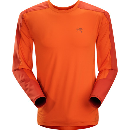 The Arc'teryx Ether Comp Crew offers quick-drying technical performance with strategic reinforcements to resist damage when you've got a pack swinging hanging from your shoulders for days on end. Throw on this shirt when you're full-steaming into the backcountry with a loaded pack on your back. - $88.95