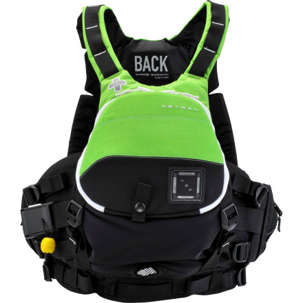 Kayak and Canoe Astral hit the nail on the head when it created the Astral GreenJacket Personal Flotation Device. This is a PFD for whitewater professionals and professional river rescuers, and it oozes with toughness and utilitarian purpose down to the tiniest detail. The front panel features a large, clamshell-style opening that can hold a rescue rope, there's a quick-release harness built into the side, a tow system on the back, a Spectra safety loop for emergency extractions, and the list goes on. Astral's designers even worked in their unique Tectonic foam panel system that uses a static panel at the chest and a dynamic, floating panel at the torso where you need mobility to paddle. Sure, you could find a lighter weight PFD option for the river, and maybe even one that's designed for rescuers, but you won't find another with the laundry list of forward-thinking safety features touted by the GreenJacket. - $239.95