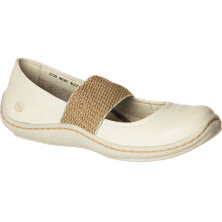 The Brn Women's Acai Shoes dish out super-cute style that is almost too adorable for words, but behind the sweet facade, these slip-ons are packing steel shanks that give you serious work-boot-style support. - $79.96