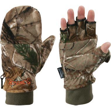 Hunting NEW! Scent-Lok® TimberFleece Pop-Top Gloves   $39.99