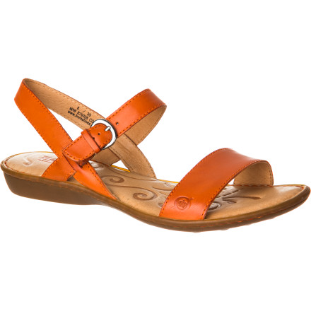 Surf The Brn Women's Janna Sandal blends casual style with solid construction to give you both a great look and the support and quality you need to stay on your feet. Theses classic buckle-up sandals have the appearance of a summery sandal and the soul of a work boot. - $84.95