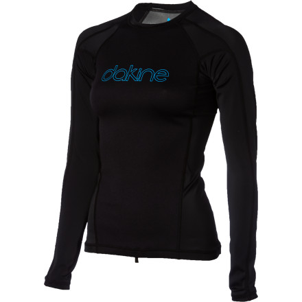 Surf The sun may be starting to fade away for the day, but the waves are just getting good. Fight off the late afternoon chills with the Dakine Neo Insulator Women's Long-Sleeve Rashguard. The soft Silver Skin neoprene is comfy and helps retain body heat so you can stay out there until the sun finally calls it quits. - $54.95