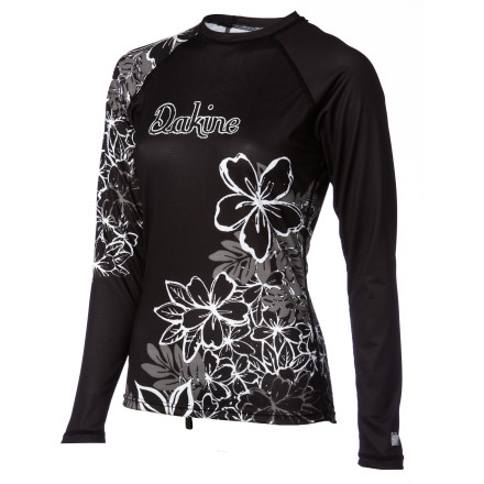 Surf For the serious surfer who prefers comfort and performance over fashion, there's the Dakine Waterwoman Women's Long-Sleeve Rashguard. The loose-fitting, lightweight fabric keeps you comfortable throughout the day and protects your skin from getting roasted. Plus, it still looks pretty darn good anyways. - $44.95
