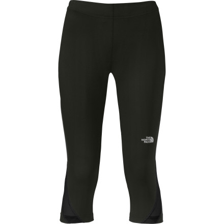Fitness The soft, supportive, and compressive The North Face Women's GTD Capri Tight feels like an energizing hug to your hard-working legs. Body-mapped ventilation provide oodles of airflow right where you need it to stay cool, dry, and running in comfort. A zippered rear pocket holds your keys, ID, and money so you can stop for a celebratory pint on the way home. You deserve it. - $59.95