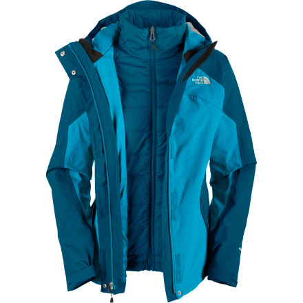 Ski Whether you're scoping huge lines or just trying to find an decent place to grab an after-ski meal, The Women's Closer Triclimate Jacket from The North Face gives keeps you ready for those ever-changing conditions. - $119.97