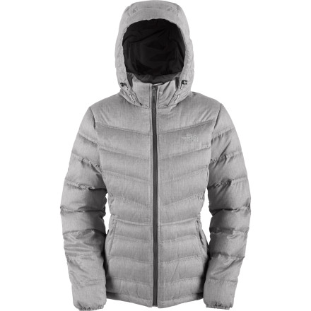 There's no mystery to the appeal of the The North Face Women's Mystique Hooded Down Jacket: between the stylish shell and the cloud-light insulation, this hoody's aura is all about good vibes. Layer the Mystique under your shell on the mountain; even on the worst days, the highly compressible 700-fill down offers incredible warmth. Post-shredding, take the Mystique out for a night on the town, where its sleek style makes it right at home at the trendiest aprs spots. - $143.37