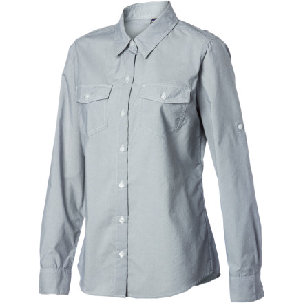 You can't do much about the weather you're working or playing in, but you can control how much sun reaches your skin with the Patagonia Women's Overcast Shirt. This classic button-down does double-duty, giving you a versatile, go-anywhere look along with UPF 30 sun protection. Throw it on over your cami when you're on belay or over your bathing suit when you've gotten enough sun, and be sure to pack it in your bag when you're heading out on a trip. - $79.00