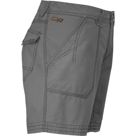 Camp and Hike Whether you're on your way to the crag or to the park for a slackline session, rely on the Outdoor Research Women's Wallflower Short to keep you moving and comfortable. - $59.95