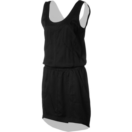 Entertainment Light, smooth, temperature-regulating, eco-friendly Tencel makes up the Lole Women's Metropolis Dress for enduring comfort of body and mind. Built for adventure and performance, this dress will keep you cool and dry while flattering seams and round neckline afford you feminine style. A security pocket and drawstring hem add jet-setting convenience. - $99.95
