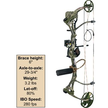 Hunting NEW! Bear® Archery Home Wrecker Bow Package - built especially for women $499.99
