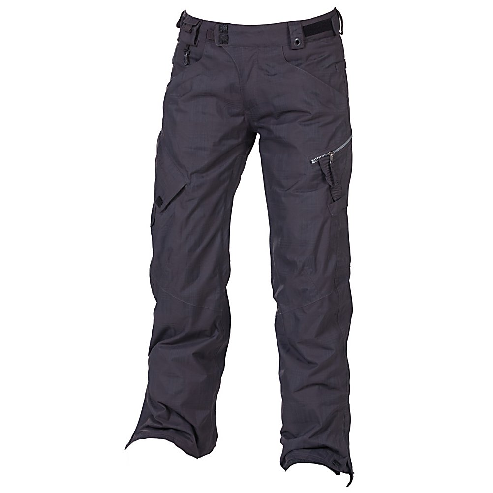 Snowboard 686 Smarty Lowrise Womens Snowboard Pants - Wear the pants that fits your lifestyle. The 686 Smarty Lowrise Snowboard Pants are built for warmth when you're shredding the chilliest parts of the mountain. This 3-in-1 pair of pants are well insulated against those frigid winter days but offer a removal liner when the weather is warmer and you don't need as much layering. You'll have 15k waterproofing and fully taped seams which will keep the moisture from seeping in and a 10k breathability rating to help with comfort. Equipped with intiDRY-15, this coating provides a wall against exterior water from coming in but allows for your body moisture to escape keeping you warm and dry all day. The removable liner is made of 100% Poly Brushed Microfleece which is cozy to the touch. There are plenty of pockets for storing the items you need close by including a left cargo pocket which has a zipper to keep the snow out and a stash glove pocket to, well, stash your gloves when you're not wearing them. With its lowrise style and features to keep you warm and comfortable, the 686 Smarty Lowrise Snowboard Pants are a great pick for any park rider or mountainside shredder. . Exterior Material: 100% Nylon Shadow Check, Softshell: No, Insulation Weight: 250 Grams, Taped Seams: Fully Taped, Waterproof Rating: 15,000mm, Breathability Rating: 10,000g, Full Zip Sides: No, Thigh Zip Venting: No, Suspenders: None, Gortex: No, Articulated Knee: Yes, Low Rise: No, Warranty: One Year, Race: No, Waterproof: Moderate Waterproofing (10,001 - 15,000mm - $119.89