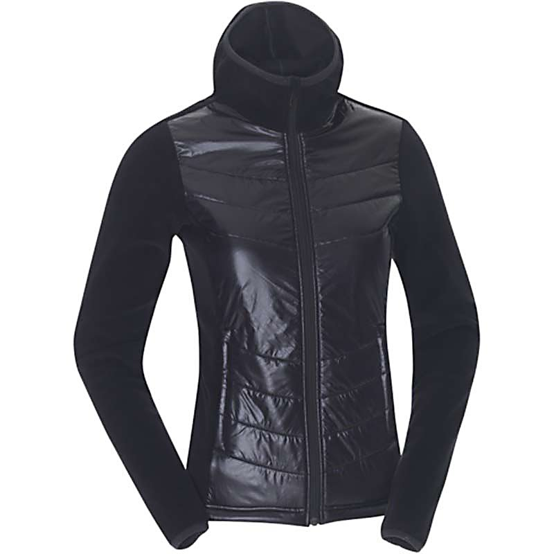 Ski KJUS Sam Fleece Womens Jacket - The Kjus Sam Fleece Jacket is a super soft feminine fleece jacket with quilting at the waist and hood. This stylish and shapely jacket will flatter your shape with a smooth look and perfect contour. The Polyamide front adds a twist of contrast to this classic design. The Sam Fleece offers a soft back and arms - keeping this jacket a bit different with combinations of materials - giving you a look and silhouette like no other. . Exterior Material: 100% Polyamide Front / 100% Polyester Back and Sleeves, Insulation Weight: N/A, Taped Seams: None, Waterproof Rating: N/A, Breathability Rating: N/A, Hood: No, Warranty: Lifetime, Battery Heated: No, Race: No, Type: Fleece, Jacket Fit: Regular, Length: Short, Insulation Type: Fleece, Waterproof: Not Specified, Breathability: Not Specified, Waterproof Zippers: No, Closure Type: Full Zip Top, Wind Protection: No, Pockets: 1-2, Model Year: 2013, Product ID: 309317, Model Number: LC30-506.15000 XS, GTIN: 7612997310296 - $199.95
