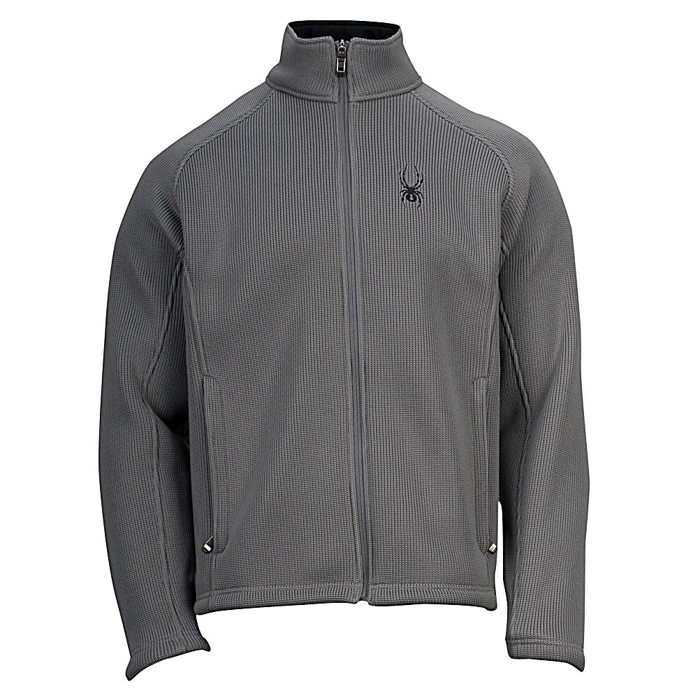 Ski Spyder Core Foremost Full Zip Mens Sweater - The Spyder Core Foremost Full Zip Sweater is great for anything from heading out on a chilly autumn night to a midlayer when you're hitting the mountain. It's a heavy weight so it will definitely keep you very warm and comfortable on the chilliest of days. It offers a classic full zip sweater design boasting the Spyder logo to show that you not only buy for style but also for functionality. Lined with Custom Spyder Knit Jacquard, you'll feel very cozy when you this sweater over your shoulders so if you want versatility and warmth, you'll want the Spyder Core Foremost Full Zip Sweater. . Hood Type: None, Material: Polyester Heavy Weight Knit with Anti-Pilling Fleece Backing, Fleece Weight: None, Category: Heavy-Weight, Hood: No, Warranty: Lifetime, Battery Heated: No, Closure Type: Full Zip Top, Wind Protection: No, Type: Sweaters, Material: Synthetic, Pockets: 1-2, Wicking Properties: No, Sleeve Type: Long Sleeve, Water Resistant: No, Model Year: 2013, Product ID: 292123, Model Number: 122201035222P, GTIN: 0886311222566 - $129.99