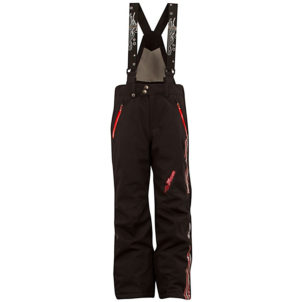 Ski Spyder Team Kids Ski Pants (Previous Season) - The highest performance pant in the Spyder's Legend Line and a pinnacle piece for future US race team skiers, the Spyder Team Ski pant is nothing less than amazing. For the days that are frigid and windy your child will have the added protection with a Custom Embossed Polyester Satin with Primaloft Infinity insulation. This is going to make waiting at the top of hill for your next race a breeze. The Team Ski Pant by Spyder you'll be giving your little skier a waterproof, breathable, durable and warm pant, thanks to a Stretch Polyester Oxford with Xt.L 20k/20k Laminate and Spylon plus DWR. Waterproof hand pockets; keep your childs lunch money dry and their hands warm. Inner snow gaiters with gripper elastic and cuff anchors keep the Team Pant for rising up. Removable adjustable high back suspenders with mesh insert allows for them to add there own style to how they dress. The Team Ski Pant by Spyder is your childs first step into looking at a future filled with gold medals. Features: Inner snow gaiters with gripper elastic, Internal elastic waist adjuster, Pass ticket holder. Exterior Material: Stretch Polyester Oxford with Xt.L with Spylon, Insulation Weight: 80g, Taped Seams: Critically Taped, Waterproof Rating: 20,000mm, Breathability Rating: 20,000g, Full Zip Sides: No, Thigh Zip Venting: Yes, Suspenders: Suspenders Removable, Articulated Knee: No, Warranty: Lifetime, Race: No, Waterproof: High Waterproofing (15,001 - 20,000mm), Breathability: High Breathability (15,001 - - $94.92