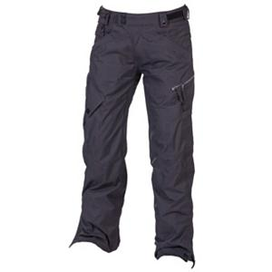 Snowboard 686 Smarty Lowrise Womens Snowboard Pants - Wear the pants that fits your lifestyle. The 686 Smarty Lowrise Snowboard Pants are built for warmth when you're shredding the chilliest parts of the mountain. This 3-in-1 pair of pants are well insulated against those frigid winter days but offer a removal liner when the weather is warmer and you don't need as much layering. You'll have 15k waterproofing and fully taped seams which will keep the moisture from seeping in and a 10k breathability rating to help with comfort. Equipped with intiDRY-15, this coating provides a wall against exterior water from coming in but allows for your body moisture to escape keeping you warm and dry all day. The removable liner is made of 100% Poly Brushed Microfleece which is cozy to the touch. There are plenty of pockets for storing the items you need close by including a left cargo pocket which has a zipper to keep the snow out and a stash glove pocket to, well, stash your gloves when you're not wearing them. With its lowrise style and features to keep you warm and comfortable, the 686 Smarty Lowrise Snowboard Pants are a great pick for any park rider or mountainside shredder. . Exterior Material: 100% Nylon Shadow Check, Softshell: No, Insulation Weight: 250 Grams, Taped Seams: Fully Taped, Waterproof Rating: 15,000mm, Breathability Rating: 10,000g, Full Zip Sides: No, Thigh Zip Venting: No, Suspenders: None, Gortex: No, Articulated Knee: Yes, Low Rise: No, Warranty: One Year, Race: No, Waterproof: Moderate Waterproofing (10,001 - 15,000mm), Breathability: Mild Breathability (5,001 - 10,000g), Use: Snowboard, Type: 3-in-1, Pant Fit: Regular, Lining Material: 100% Nylon Taffeta, Waist: Adjustable, Pockets: 5-6, Model Year: 2013, Product ID: 309416, Model Number: L2W402 BLK S, GTIN: 0883510197473 - $119.89