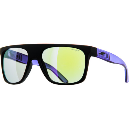 Camp and Hike Part of the Arnette ACES (Arnette Creative Exchange System) collecton, the Squaresville sunglasses include an extra set of interchangeable temples so you can switch up your style from day to day. - $89.95