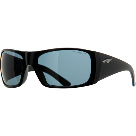 Camp and Hike Part of the Arnette ACES Collection, the Change Up Polarized Sunglasses come with two sets of interchangeable temple arms that completely alter the look of your shades. The polarized lens coating minimizes glare from reflective surfaces to keep your vision clear in bright environments. - $119.95