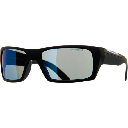 Camp and Hike Next time somebody compliments you on your Arnette Roboto Polarized Sunglasses, there's really only one appropriate response: 'Domo arigato'. - $109.95